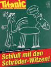 Cover Januar 2003, Nr. 1